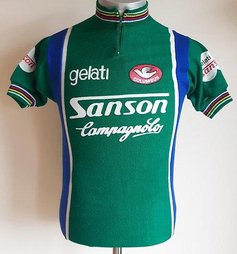 Maillot cycliste vintage Sanson Columbus 1978