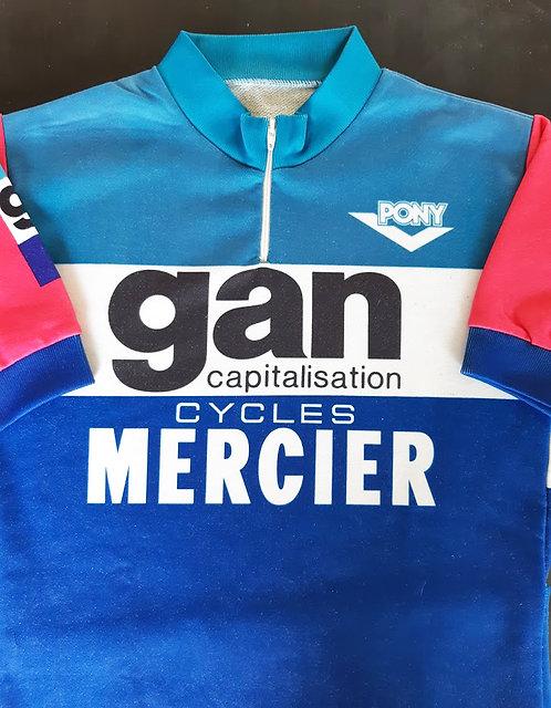 Maillot cycliste vintage Gan Mercier Enfant