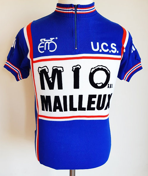 Maillot cycliste vintage Mio Mailleux