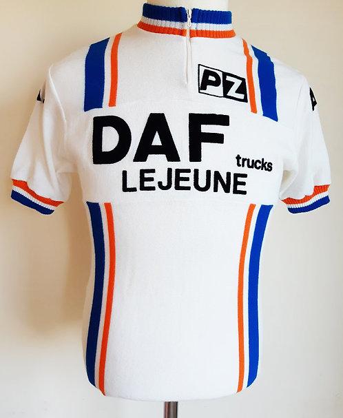 Maillot cycliste équipe Daf trucks Lejeune