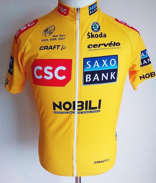 Maillot cycliste CSC Saxo Bank