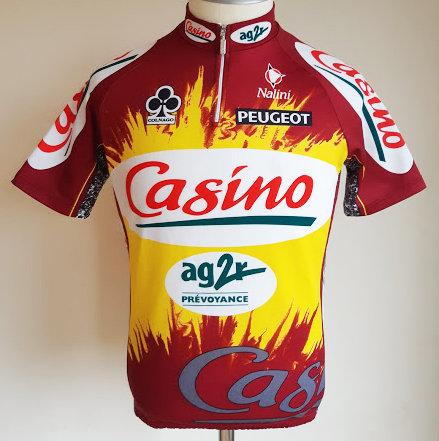 Maillot cycliste Casino AG2R