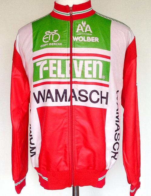 Veste cycliste team 7 Eleven - Wamasch