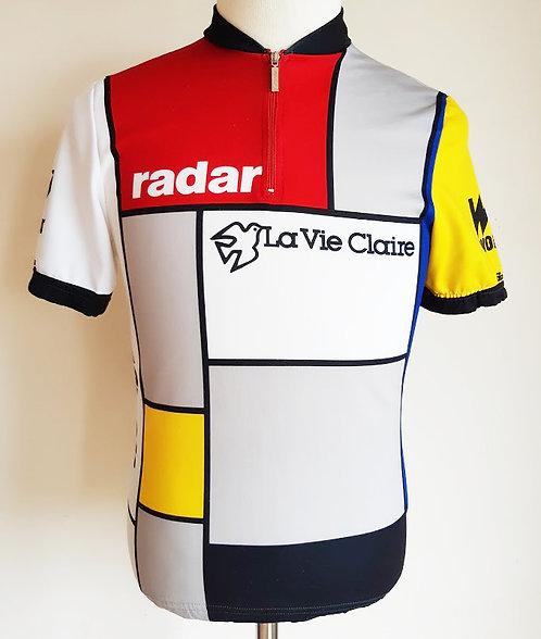 Maillot cycliste La Vie Claire Wonder Radar