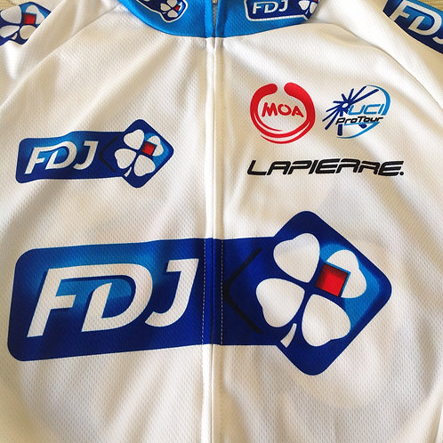 Maillot cycliste FDJ Francis Mourey