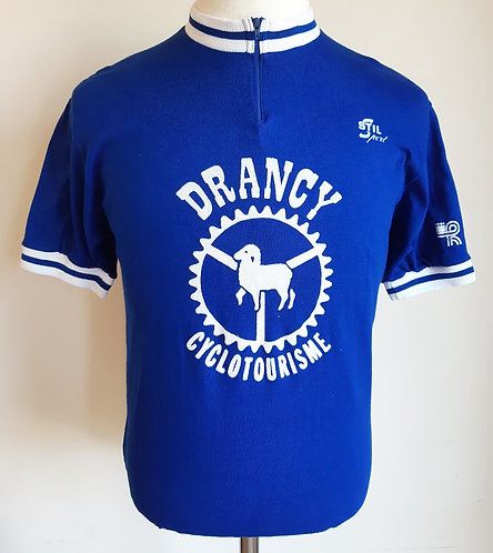 Maillot cycliste vintage Drancy