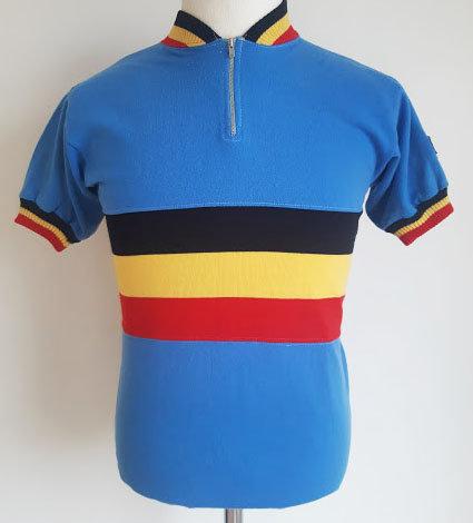 Maillot cycliste vintage équipe de Belgique