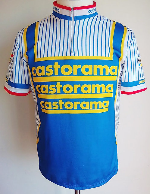Maillot cycliste équipe Castorama 1990