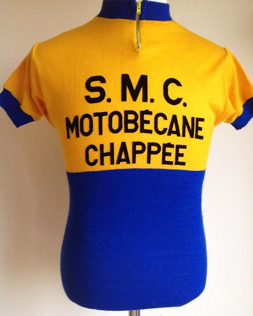 Maillot cycliste vintage SMC Motobécane