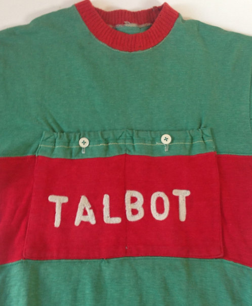 Maillot cycliste Talbot 1947