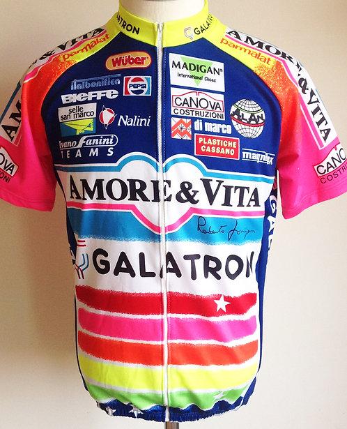 Maillot cycliste Amore & Vita - Galatron