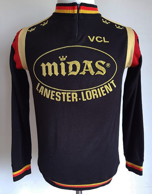 Maillot cycliste vintage VCL Lanester Lorient