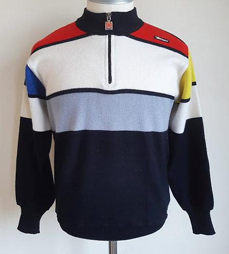 Pull cycliste vintage Santini