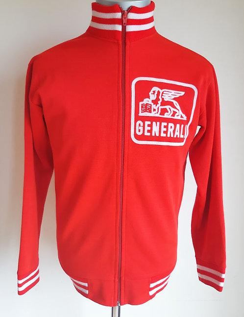 Veste cycliste vintage Generali Belgium
