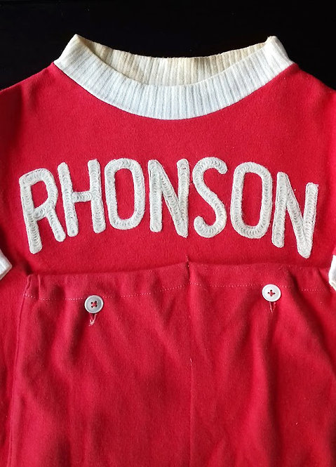Maillot cycliste équipe Rhonson Dunlop 1951