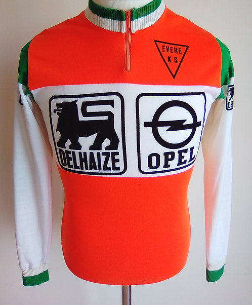 Maillot cycliste vintage Evere