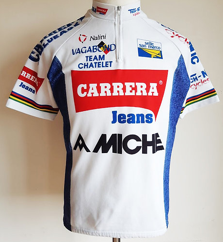 Maillot cycliste équipe Carrera Team Chatelet