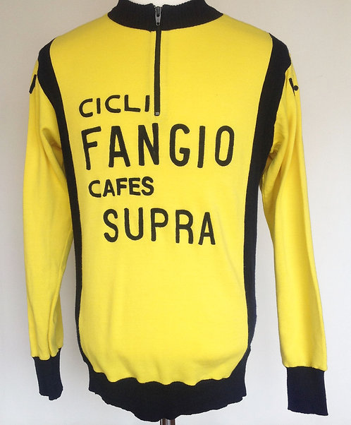 Maillot cycliste vintage Cicli Fangio