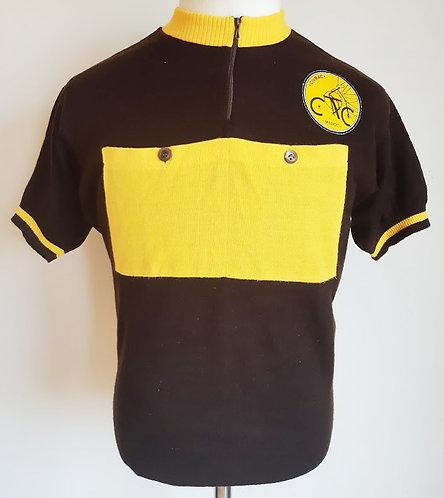 Maillot cycliste vintage Civrac Medoc