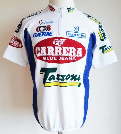Maillot cycliste Carrera Jeans Tassoni