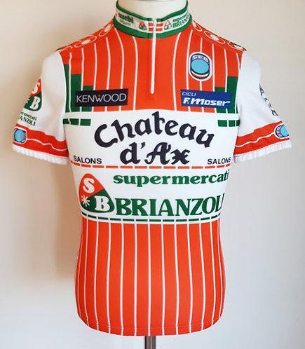 Maillot cycliste Supermercati Brianzoli Château d'Ax