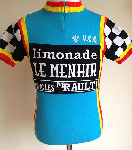 Maillot cycliste vintage Le Menhir