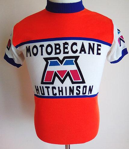Maillot cycliste Motobécane Hutchinson