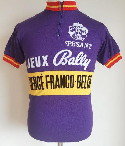 Maillot cycliste vintage Pesant