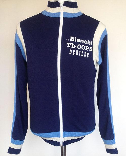 Veste cycliste vintage Bianchi Piaggio