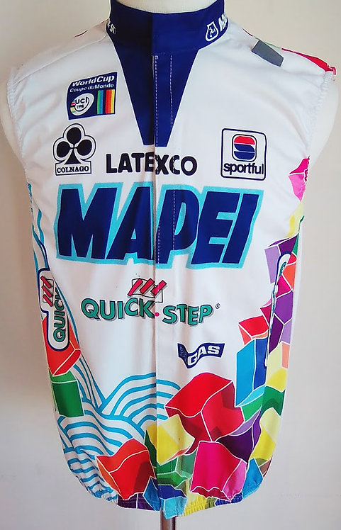 Gilet coupe vent Mapei