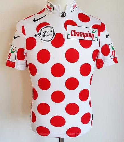 Maillot cycliste du Meilleur Grimpeur Tour de France 99