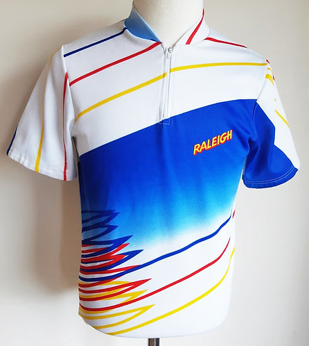 Maillot cycliste vintage Raleigh