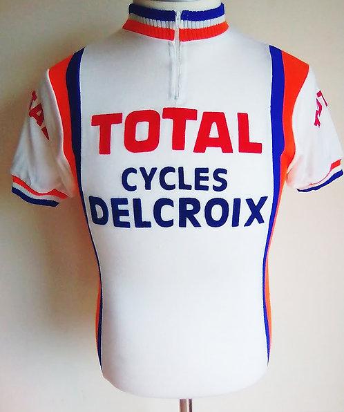 Maillot cycliste vintage Cycles Delcroix