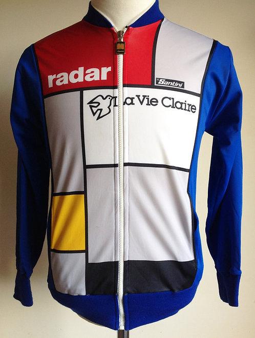 Veste cycliste vintage Radar La Vie Claire