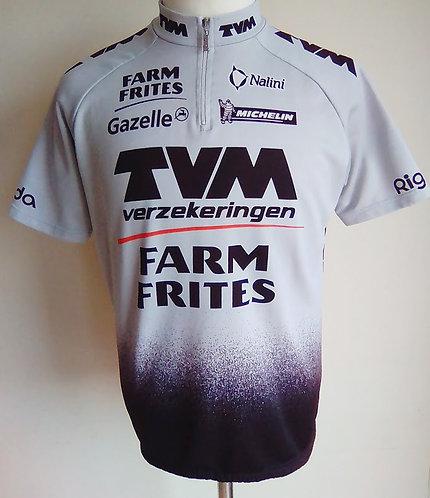 Maillot cycliste TVM Farm Frites