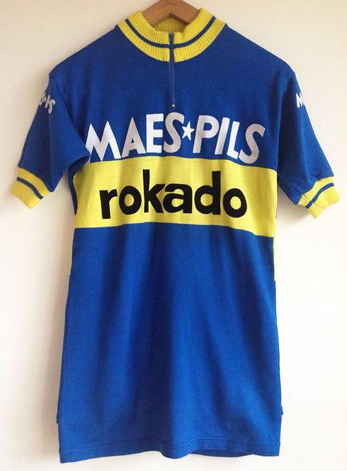 Maillot cycliste Maes Pils Rokado
