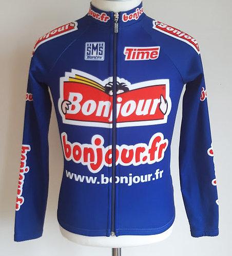 Maillot cycliste équipe Bonjour