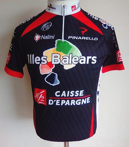 Maillot cycliste Caisse d'Épargne Illes Balears