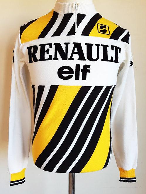 Maillot cycliste vintage Renault Elf