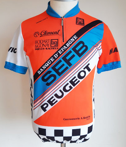 Maillot cycliste S.E.F.B Peugeot