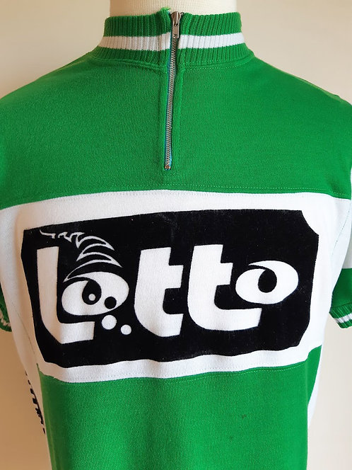 Maillot cycliste vintage Lotto