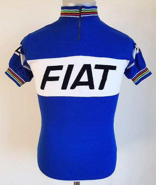 Maillot cycliste vintage Fiat France 1977