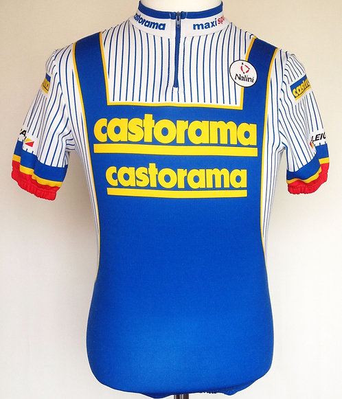Maillot cycliste Castorama-Raleigh 1991