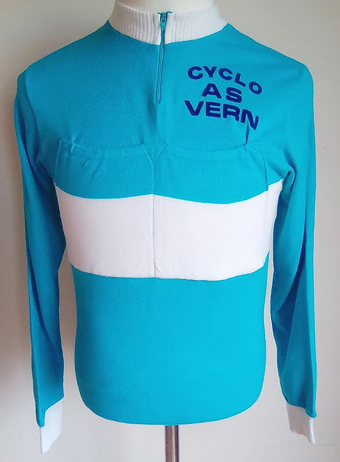 Maillot cyciste vintage Cyclo AS Vern