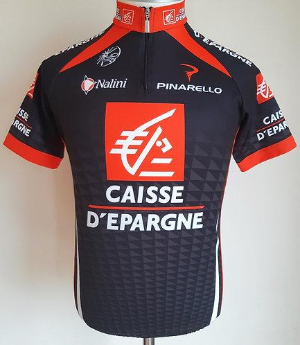 Maillot cycliste équipe Caisse d'Epargne