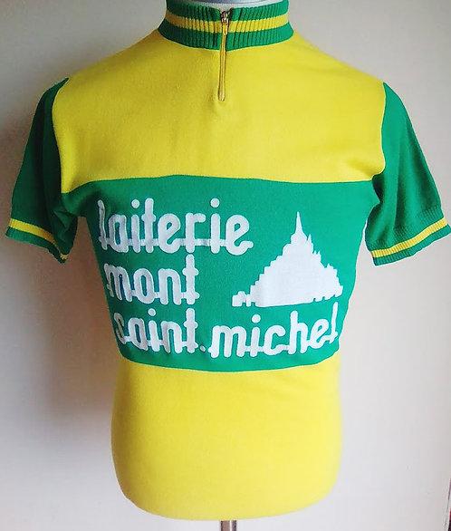 Maillot cycliste vintage Laiterie Mont Saint-Michel