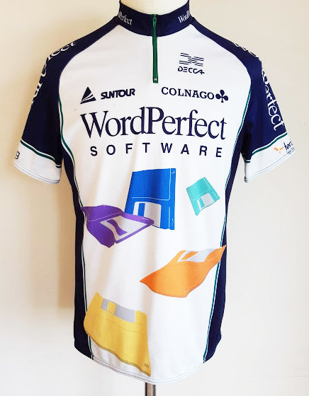 Maillot cycliste Wordperfect