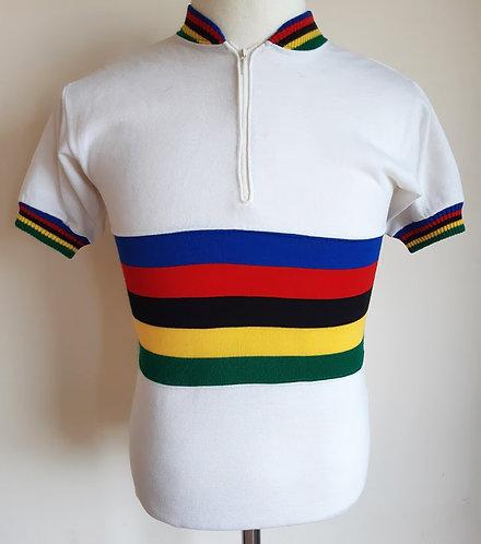 Maillot cycliste vintage Champion du Monde