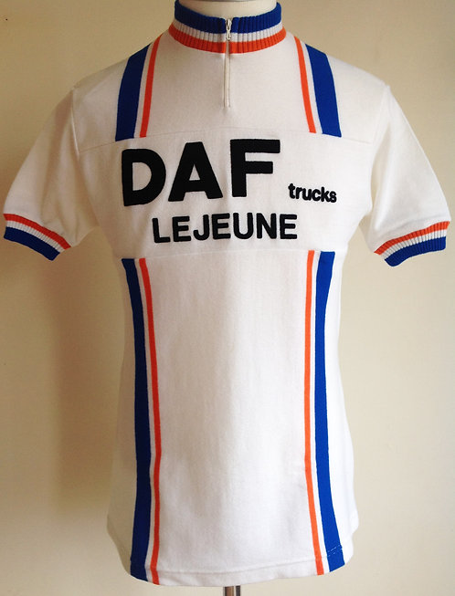 Maillot cycliste Daf Trucks Lejeune