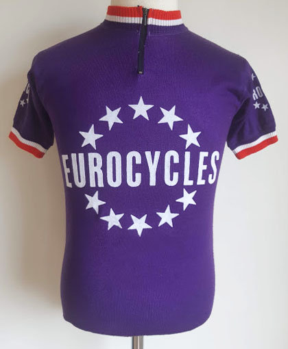 Maillot cycliste vintage Eurocycles